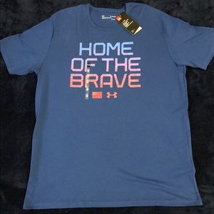 Under Armour Home of the Brave Heat Gear Tee